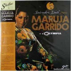 Discos de vinilo: MARUJA GARRIDO – EN EL OLYMPIA DE PARÍS PREST. SALVADOR DALÍ - LP SPAIN 2021 - SHELLAC DISC - NUEVO. Lote 240497530