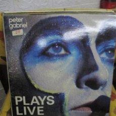 Discos de vinilo: PETER GABRIEL – PLAYS LIVE. Lote 240502915