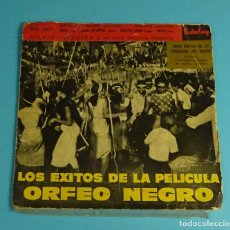 Discos de vinilo: SILVIO SILVEIRA Y SU ORQUESTA. LOS ÉXITOS DE LA PELÍCULA ORFEO NEGRO. 1959 BARCLAY. Lote 240504415