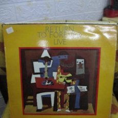 Discos de vinilo: RETURN TO FOREVER – LIVE. Lote 240505220