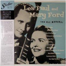 Discos de vinilo: LES PAUL & MARY FORD - THE HIT MAKERS - LP SPAIN 2019 - SHELLAC DISC - PRECINTADO. Lote 240512320
