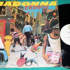 "Discos de vinilo: MADONNA EVERYBODY 12"" VINILO BRASIL - PARA DJ RARO. Lote 240514595"