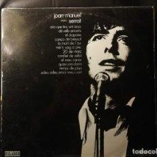 Discos de vinil: DISCO LP-JOAN MANUEL SERRAT- ED. ESPECIAL CIRCULO DE LECTORES - AÑO 1971. Lote 240528005