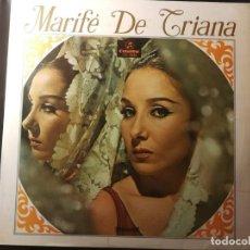 Discos de vinilo: DISCO LP-MARIFÉ DE TRIANA- AÑO 1967. Lote 240529505