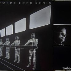 Discos de vinilo: KRAFTWERK.KRAFTWERK EXPO REMIX...DOBLE MAXI...EX+...MUY DIFICIL. Lote 240530725
