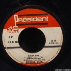 Discos de vinilo: MANUEL DIAS - O EMIGRANTE. Lote 240540715