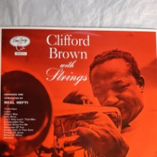 Discos de vinilo: LP CLIFFORD BROWN WITH STRINGS (NUEVO). Lote 240546005