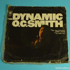 Discos de vinilo: O.C.SMITH. THE SON OF HICKORY HOLLER'S TRAMP / THE BEST MAN. CBS 1968. Lote 240549275
