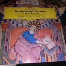Discos de vinilo: BACH PASION SEGÚN SAN MATEO. Lote 240559330