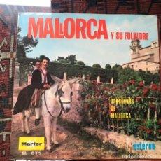 Discos de vinilo: MALLORCA Y SU FOLKLORE. DANÇADORS DE MALLORCA. Lote 240568130