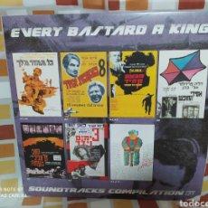 Discos de vinilo: VARIOUS EVERY BASTARD A KING SOUNDTRACK COMPILATION VINYL LP ISRAELI SOUNDTRACKS . VINILO NUEVO. Lote 240579065