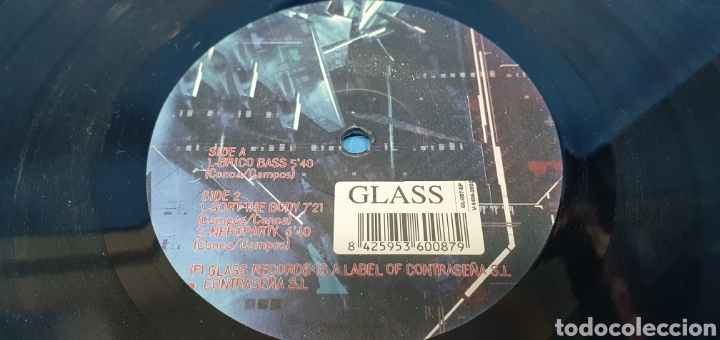 Discos de vinilo: DISCO DE VINILO - KUANTICO ep vol. 2 - Brico Bass - Foto 3 - 240587070