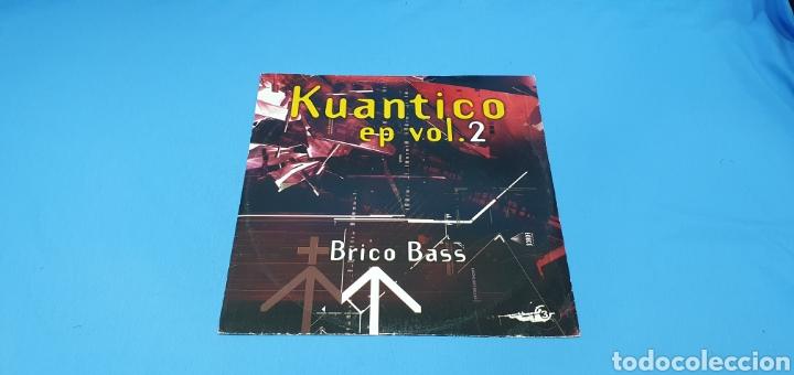 DISCO DE VINILO - KUANTICO EP VOL. 2 - BRICO BASS (Música - Discos de Vinilo - Maxi Singles - Pop - Rock Internacional de los 90 a la actualidad)