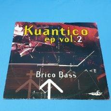 Discos de vinilo: DISCO DE VINILO - KUANTICO EP VOL. 2 - BRICO BASS. Lote 240587070