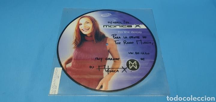 DISCO DE VINILO - MONICA X - L'M THE DEEJAY (Música - Discos de Vinilo - Maxi Singles - Pop - Rock Internacional de los 90 a la actualidad)