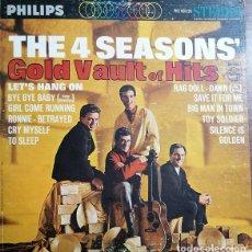 Discos de vinilo: THE FOUR SEASONS - GOLD VAULT OF HITS - LP DE VINILO 1ª EDICION U.S.A. STEREO #. Lote 240587965
