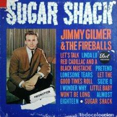 Discos de vinilo: JIMMY GILMER & THE FIREBALLS - SUGAR SHACK - LP DE VINILO 1ª EDICION U.S.A. STEREO #. Lote 240588260