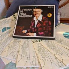 Discos de vinilo: PAUL MAURIAT.LO MEJOR. 8 LPS. Lote 240590295