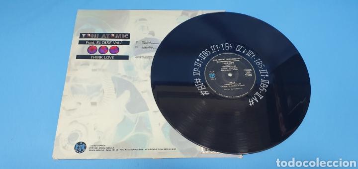 Discos de vinilo: DISCO DE VINILO - THINK LOVE - TONI ATOMIC - Feat. ELOISE Vol.2 - Foto 3 - 240590740