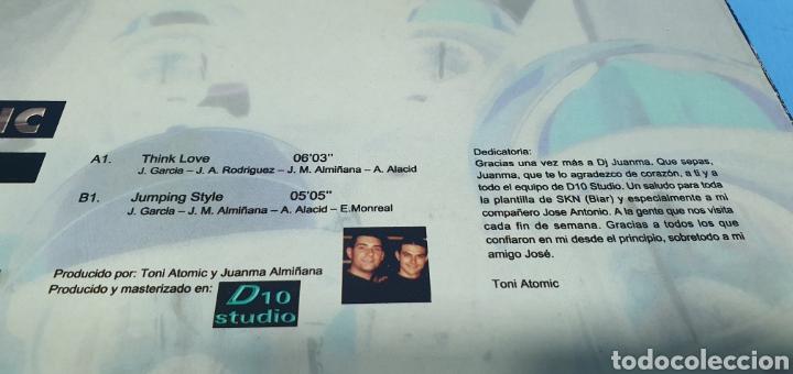 Discos de vinilo: DISCO DE VINILO - THINK LOVE - TONI ATOMIC - Feat. ELOISE Vol.2 - Foto 5 - 240590740