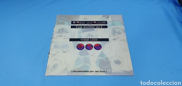 DISCO DE VINILO - THINK LOVE - TONI ATOMIC - FEAT. ELOISE VOL.2 (Música - Discos de Vinilo - Maxi Singles - Pop - Rock Internacional de los 90 a la actualidad)