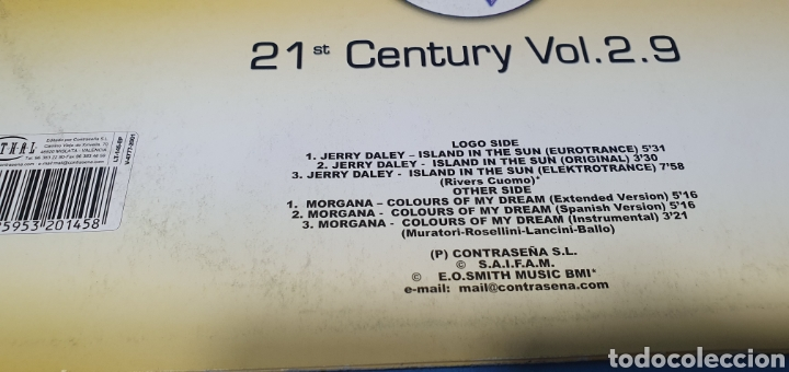 Discos de vinilo: DISCO DE VINILO - 21 st Century Vol. 2.9 - Jerry Daley/Morgana - Foto 5 - 240591675