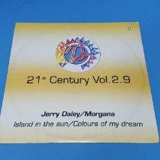 Discos de vinilo: DISCO DE VINILO - 21 ST CENTURY VOL. 2.9 - JERRY DALEY/MORGANA. Lote 240591675