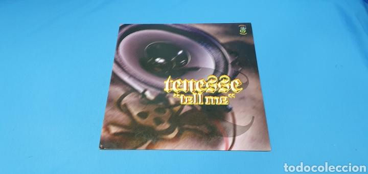 """DISCO DE VINILO - TENESSE - """"TELL ME"""" (Música - Discos de Vinilo - Maxi Singles - Pop - Rock Internacional de los 90 a la actualidad)"""