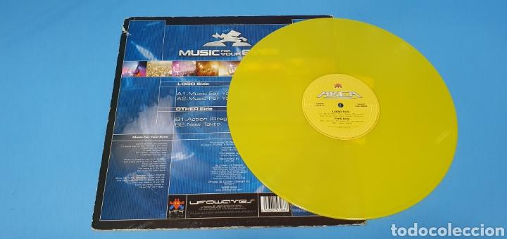 Discos de vinilo: DISCO DE VINILO - AREA - MUSIC FOR YOUR EYES - Foto 3 - 240596655