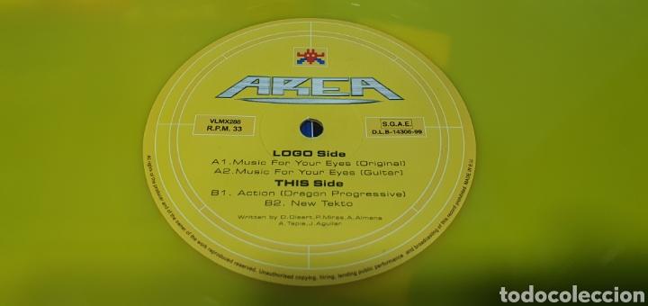 Discos de vinilo: DISCO DE VINILO - AREA - MUSIC FOR YOUR EYES - Foto 4 - 240596655