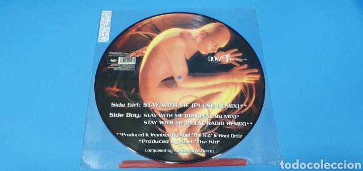 Discos de vinilo: DISCO DE VINILO - NOVYZ9 STAY WITH ME - Foto 3 - 240598610