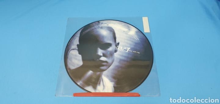 DISCO DE VINILO - NOVYZ9 STAY WITH ME (Música - Discos de Vinilo - Maxi Singles - Pop - Rock Internacional de los 90 a la actualidad)