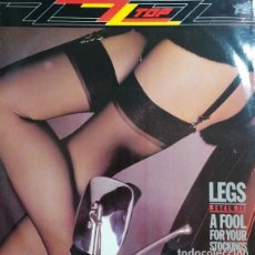 Disques de vinyle: ZZ TOP - LEGS METAL MIX - MAXI SINGLE EDICION INGLESA #. Lote 240598775