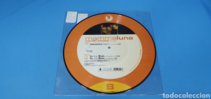 Discos de vinilo: DISCO DE VINILO - MAMMA LUNA - HOUSE & DANCE CLUB - Foto 2 - 240599590