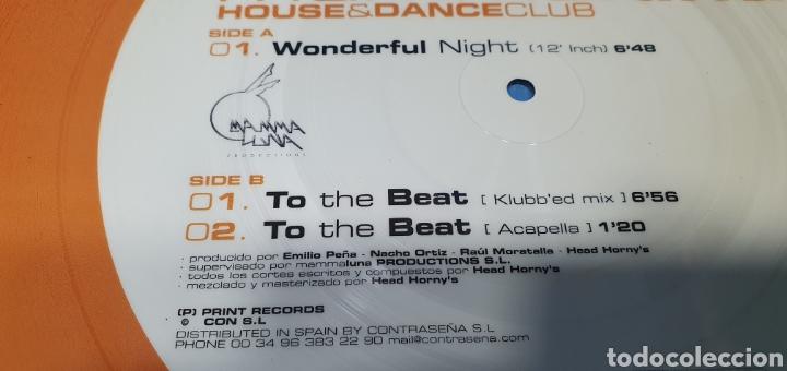 Discos de vinilo: DISCO DE VINILO - MAMMA LUNA - HOUSE & DANCE CLUB - Foto 4 - 240599590