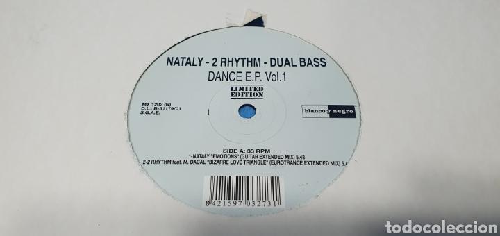 Discos de vinilo: DISCO DE VINILO - NATALY - 2 RHYTHIM - DUAL BASS - Foto 2 - 240600655