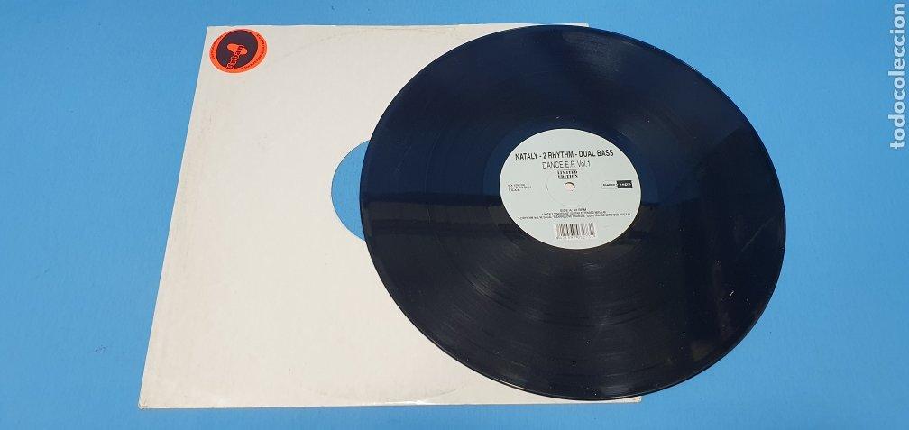 Discos de vinilo: DISCO DE VINILO - NATALY - 2 RHYTHIM - DUAL BASS - Foto 3 - 240600655