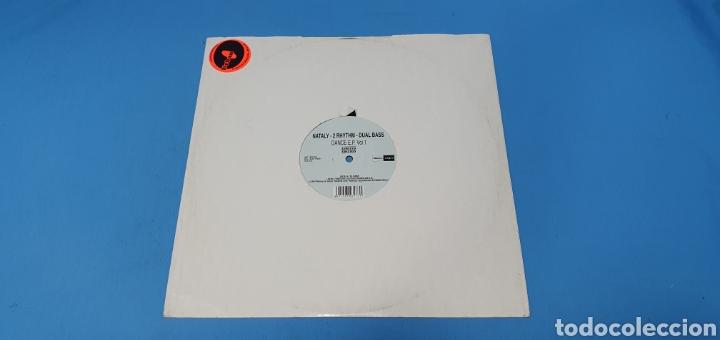DISCO DE VINILO - NATALY - 2 RHYTHIM - DUAL BASS (Música - Discos de Vinilo - Maxi Singles - Pop - Rock Internacional de los 90 a la actualidad)