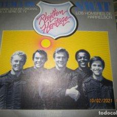 Discos de vinilo: RHYTHM HERITAGE TEMA DE SWAT B.S.O. - SINGLE ORIGINAL ESPAÑOL - ABC RECORDS 1976 MUY NUEVO(5). Lote 240601250