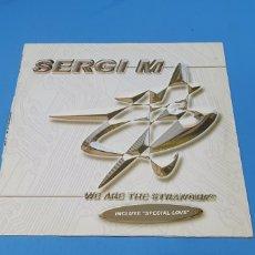 Discos de vinilo: DISCO DE VINILO - SERGI M - WE ARE THE STRANGERS. Lote 240602540