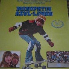 Discos de vinilo: MONOPATIN AZULLIMON B.S.O. - SINGLE ORIGINAL ESPAÑOL - MOVIEPLAY RECORDS 1979 MUY NUEVO (5). Lote 240602915