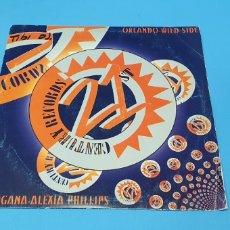 Discos de vinilo: DISCO DE VINILO - ORLANDO - WILD SIDE / MORGANA - ALEXIA PHILLIPS. Lote 240604420