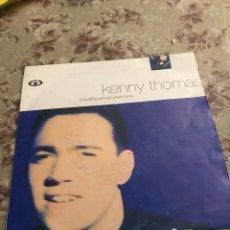 "Discos de vinilo: KENNY THOMAS, VINILO 7"" (THINKING ABOUT YOUR LOVE). Lote 240604715"