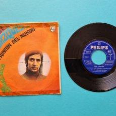 Discos de vinilo: DISCO VINILO - DANIEL VELAZQUEZ - EN UN RINCON DEL MUNDO / NO ESTARE SOLO - SINGLE 1968. Lote 237310880