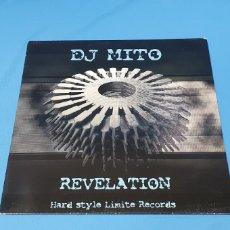Discos de vinilo: DISCO DE VINILO - REVELATION - HARD STYLE LIMITE RECORDS - DJ MITO. Lote 240621450
