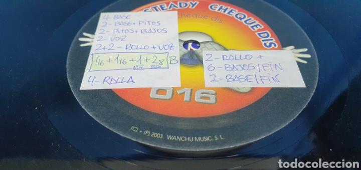 Discos de vinilo: DISCO DE VINILO - ROCK STEADY - CHEQUE DIS - Foto 4 - 240622485