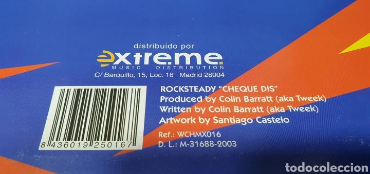 Discos de vinilo: DISCO DE VINILO - ROCK STEADY - CHEQUE DIS - Foto 5 - 240622485