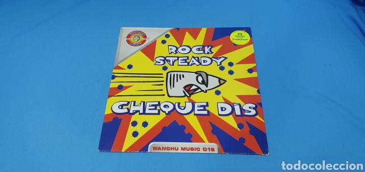 DISCO DE VINILO - ROCK STEADY - CHEQUE DIS (Música - Discos de Vinilo - Maxi Singles - Pop - Rock Internacional de los 90 a la actualidad)