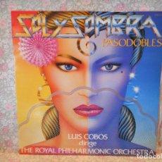Discos de vinil: SOL Y SOMBRA PASODOBLES. LUIS COBOS.. Lote 240622630