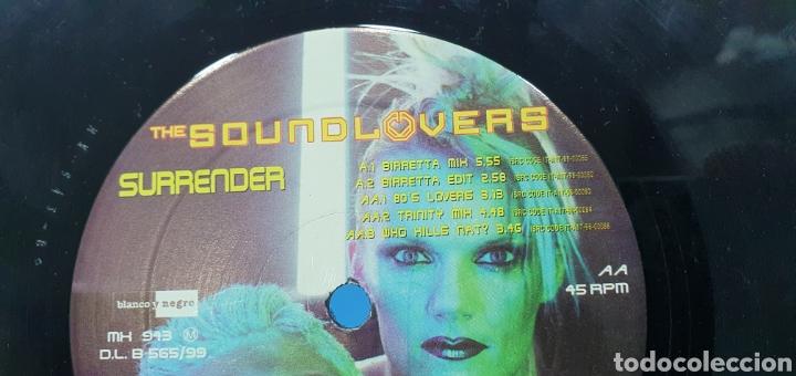 Discos de vinilo: DISCO DE VINILO - THE SOUND LOVERS - SURRENDER - Foto 5 - 240623685